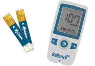 Glucometer-blood glucose monitoring system